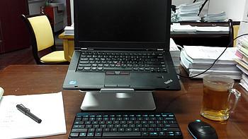 颈椎拯救行动——UP 爱普 可旋转笔记本底座+Logitech 罗技无线键鼠套装MK240使用评测
