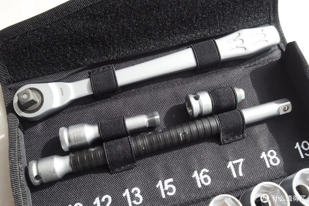 机械控的生日好礼:德淘 Wera Zyklop 3/8寸 金属棘轮扳手套装