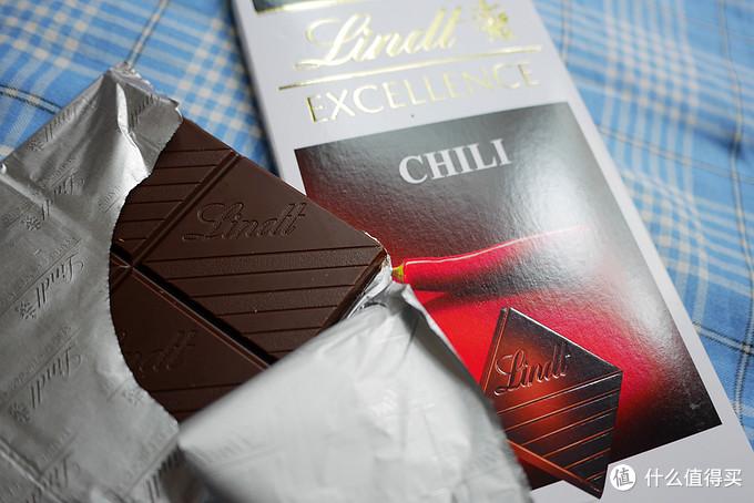 性感但不张扬——Lindt 瑞士莲 辣椒味黑巧克力口感体会