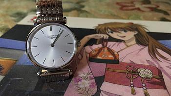 没送出去的礼物:Longines 浪琴 嘉岚系列 L4.209.4.72.6 石英腕表