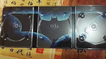 新鲜热辣的晒单,蝙蝠侠国行BD三部曲