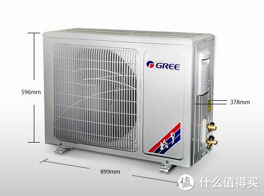 #细说家电#GREE 格力 锐逸 KFR-50LW/(50585)FNCa-A2 变频立柜式冷暖空调