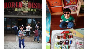 皮大王的玩具车们 篇四:#本站首晒# 初探迪斯尼小镇带回的汽车总动员们