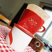 #本站首晒# 告别速溶咖啡的简单一步:YAMI 扇形滤杯