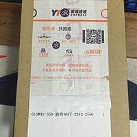 光威 NGFF 256G 固态硬盘开箱展示(包装|接口|正面|背面)