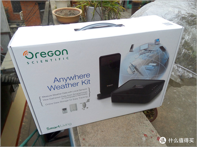 #本站首晒# Oregon SCIENTIFIC 欧西亚 Anywhere Weather Kit 个人气象站套件 2014款