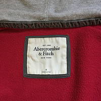 晒Abercrombie&Fitch 全拉链式 帽衫及真人穿着体验(wildfox couture小衫乱入)
