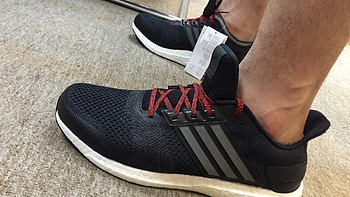 wiggle.co.uk入手adidas 阿迪达斯 ultra boost st 黑白 运动鞋