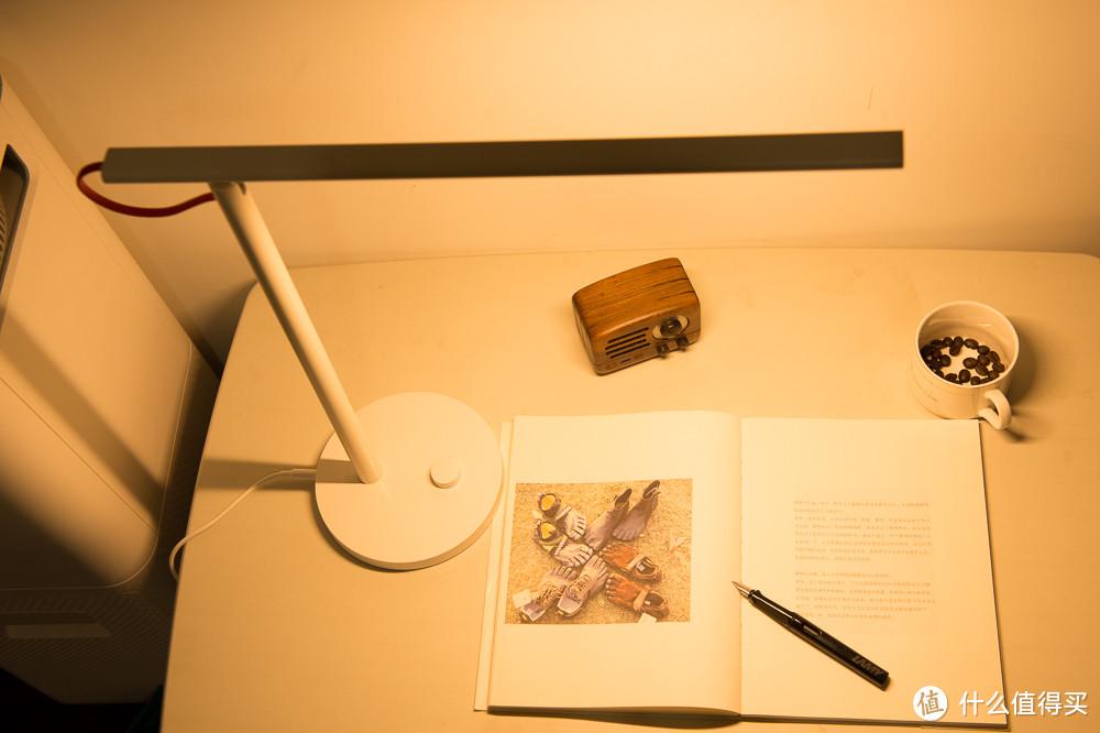 OPPLE 欧普照明 长臂折叠台灯 银色 开箱