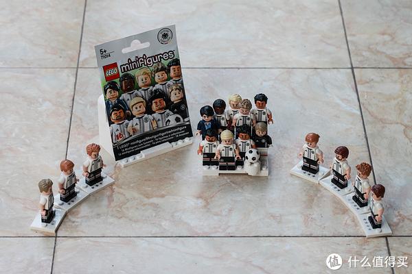 #首晒# 德迷珍藏,冠军归来:LEGO 乐高 71014 德国队抽抽乐
