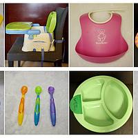 图表结合推荐0-2岁宝宝用品:用餐物品(23款)