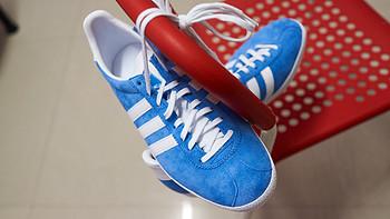 #本站首晒# Adidas 阿迪达斯 Originals GAZELLE OG 中性板鞋开箱