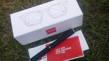汉代 眼镜开箱展示(镜片|镜腿|鼻托|铰链)