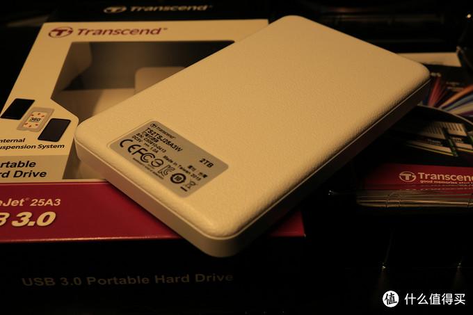 Transcend 创见  白马王子 2TB移动硬盘 开箱+拆机装进笔记本