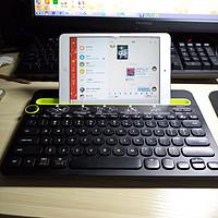 关于数码产品的碎碎念 篇一:Logitech 罗技 K480 蓝牙键盘 开箱晒物