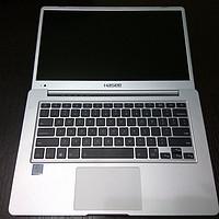 #原创新人# 纠结星人终上船 — Hasee 神舟 优雅X4-SL5 S1 14英寸笔记本 简单开箱