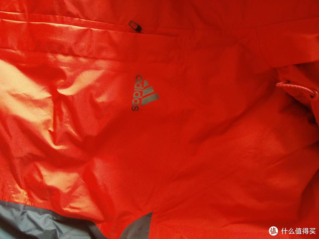 adidas 阿迪达斯 户外 GTX 防风雨外套 开箱