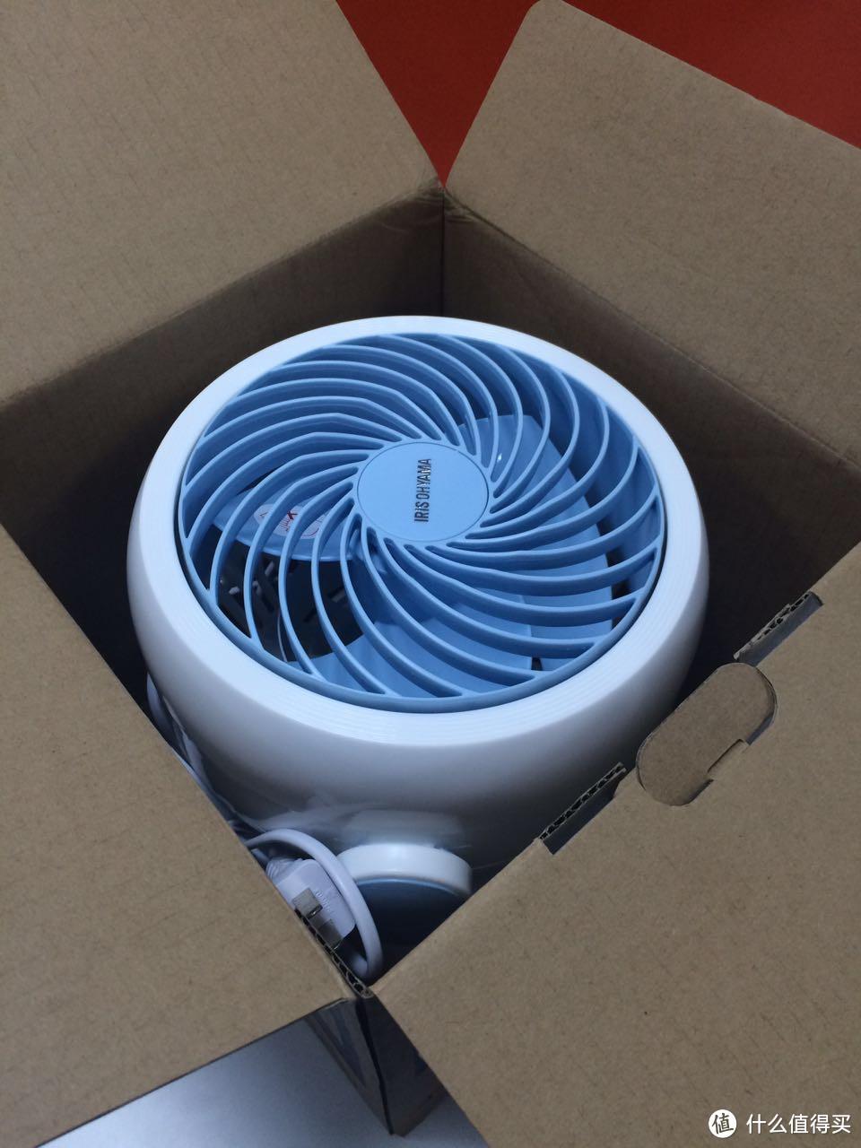 IRIS 爱丽思 空气循环扇 开箱