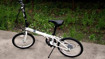 真人兽演示本次剁手之旅——DAHON 大行 KBC061 折叠自行车