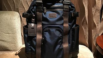 短期差旅双肩背包:TumiAlpha Bravo Lejeune Backpack Tote Navy 222380 开箱