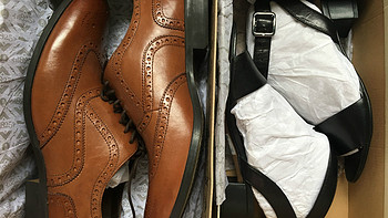 英亚直邮 — Clarks Sharna Balcony 女士真皮凉鞋 开箱