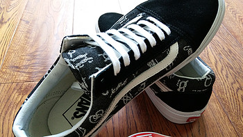 找找年轻的感觉,人生第一双板鞋-----VANS 范斯 Old  Skool 板鞋