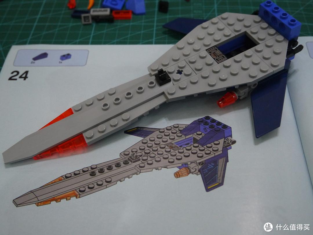 创意无限——LEGO 乐高 未来骑士团系列 克雷的圣剑合体战车评测