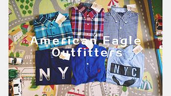 服饰快消品 篇三:American Eagle Outfitters 男式春夏装(附尺码说明)