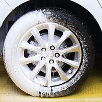 车辆保养DIY 篇五:洗车轮