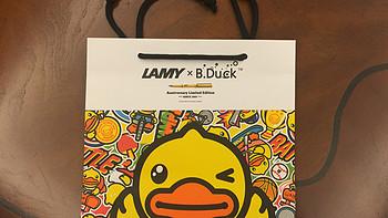#原创新人# LAMY 凌美 sports day系列 小黄鸭墨水笔套装 开箱