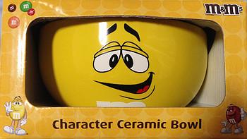 #本站首晒# 快到我碗里来 — M&M's 黄色笑脸 陶瓷水杯 咖啡杯 马克杯 晒单