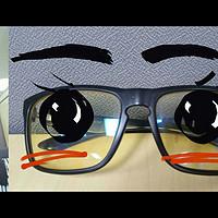 #一周熱征#辦公室利器# GUNNAR Intercept 電競防藍光眼鏡(真人獸)