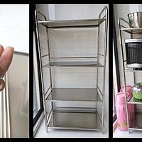微波炉和烤箱的好住处——厨房置物架选购及安装