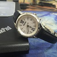 简约璀璨:SEIKO 精工 SSVV011 女款电波光动能腕表