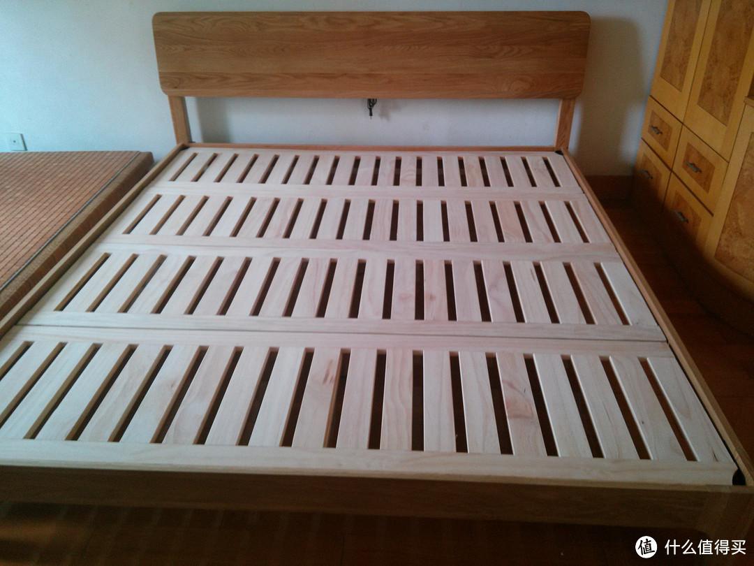 简评维莎原木白橡木实木床