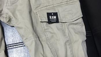 第一次买G-Star Rovic Slim 工装休闲裤