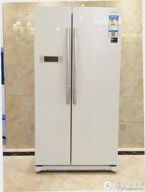2999元入手SAMSUNG 三星 RS542NCAEWW/SC 对开门冰箱 简单验货晒图