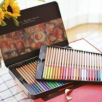 我的彩铅入门装备——马可雷诺阿48色彩色铅笔《爱丽丝漫游仙境》150周年涂色礼盒