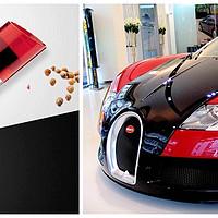厨神的厨房 篇十五:#本站首晒# 开着超跑进厨房:Bugatti 布加迪 魅力盐和胡椒调味罐 开箱共赏