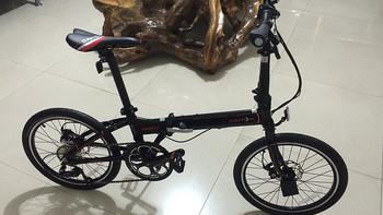 城市通勤车:DAHON 大行 D8 20寸折叠自行车