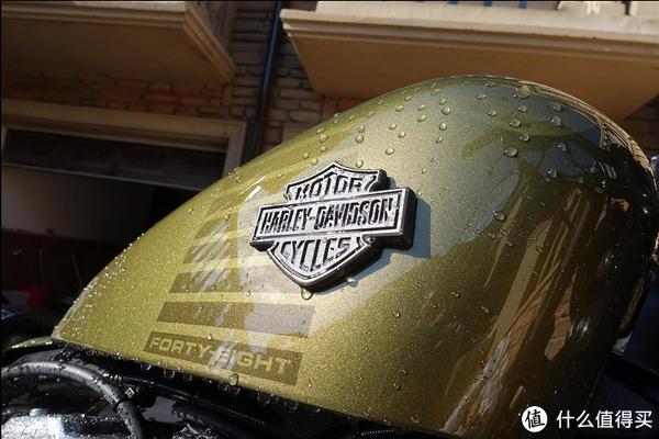 我自己的两轮车故事 篇五:#首晒# 大家所期待的:哈雷 戴维森运动者48 摩托车 开箱测评