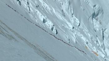 十年攀登珠峰计划系列之一:装备基础篇 篇一:The north face 北面 巅峰 喜马拉雅连体羽绒服