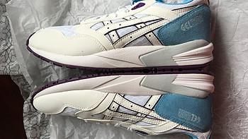 天真不能无鞋:ASICS 亚瑟士 Tiger Gel-Saga 女士运动鞋 开箱