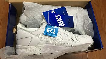 #原创新人# 一双小白鞋:Asics 亚瑟士 GEL-LyteV 复古运动休闲鞋