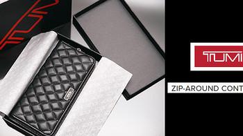 #本站首晒# TUMI长款女士钱夹 - Sinclair系列Zip-Around Continental