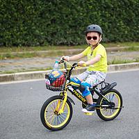 #本站首晒#上海名牌!凤凰16寸儿童自行车