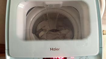 Haier 海尔 MBM30-268W 迷你3公斤波轮洗衣机 开箱