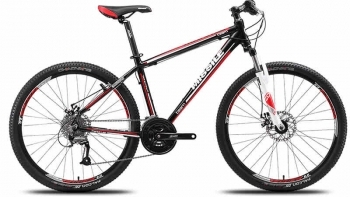 国庆购买的MISSILE 米赛尔 铝合金山地自行车