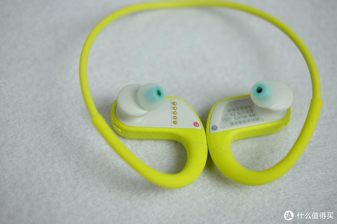 可上天入水的耳塞播放器——SONY 索尼 NW-WS413 运动耳机