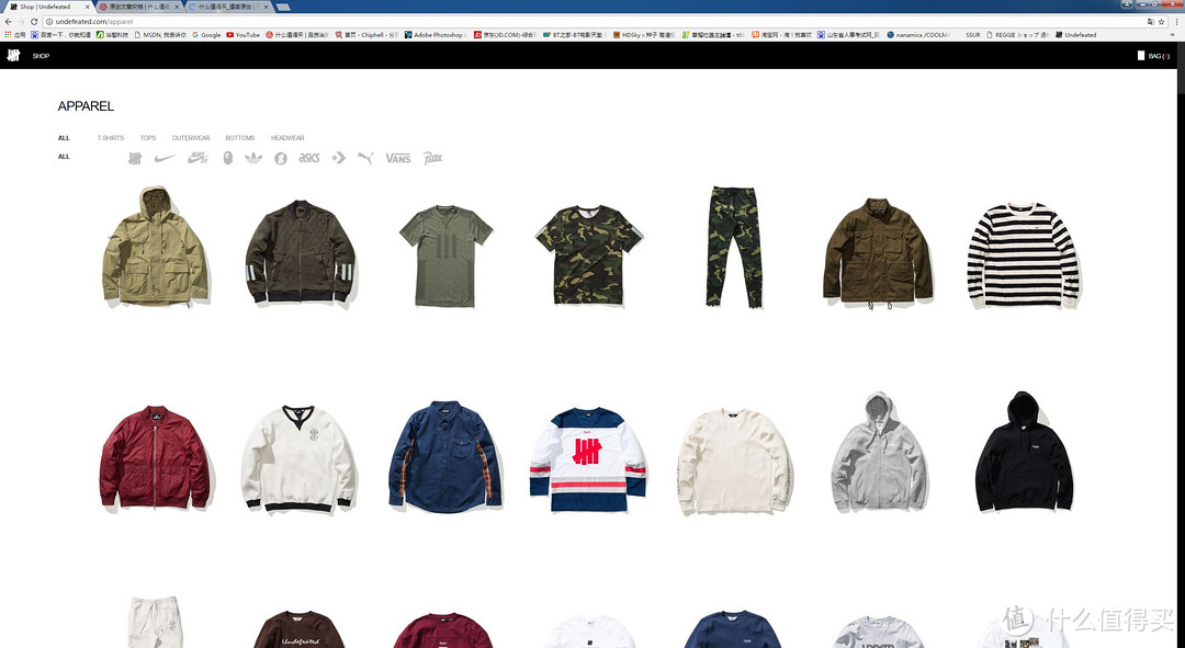#本站首晒# UNDEFEATED 2016AW新款拉链卫衣+美国官网购买攻略